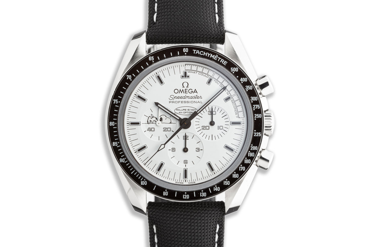 2015 Limited Edition Omega Speedmaster Professional Snoopy Award 311.32.42.30.04.003 with Box and Papers photo, #0