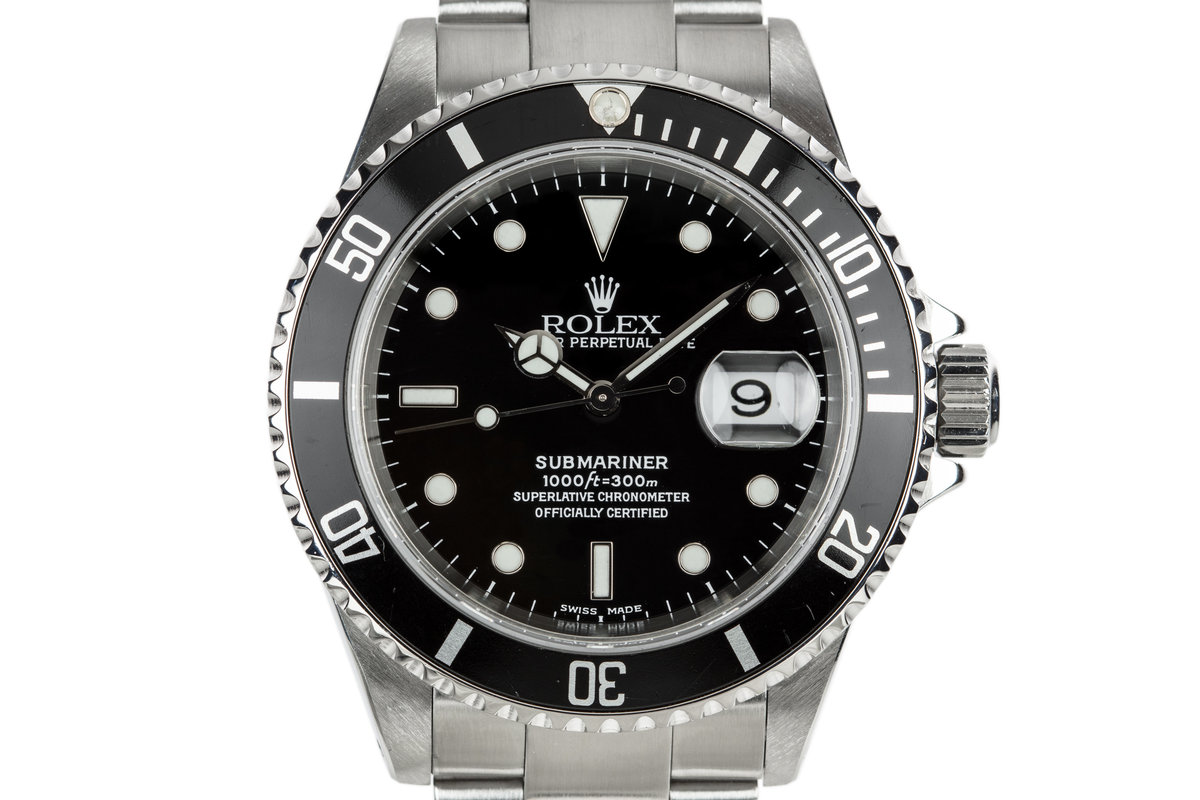 2001 Rolex Submariner 16610 photo, #0