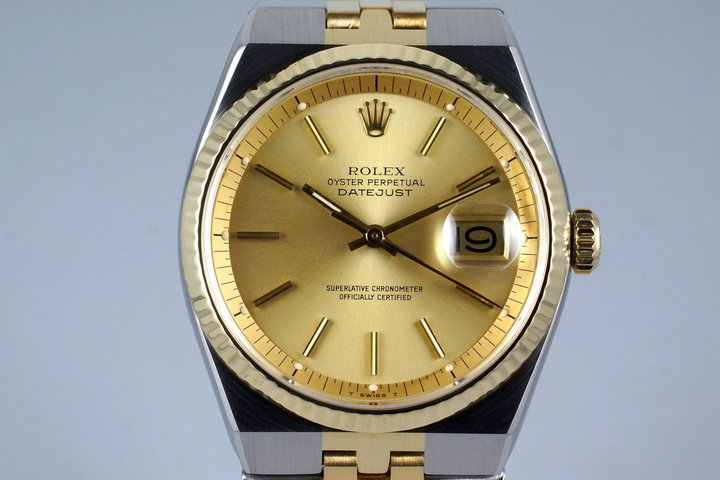 1978 Rolex Two Tone DateJust 1630 photo