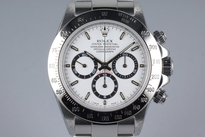 1997 Rolex Zenith Daytona 16520 White Dial photo