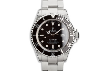 2007 Rolex Sea-Dweller 16600 T with Box, Card & Tool-Kit photo