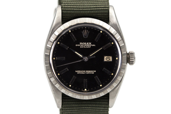1958 Rolex Datejust 6605 with Glossy Gilt Dial photo