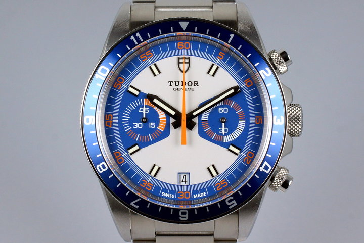 2016 Tudor Heritage Chrono 70330B with Box and Papers photo