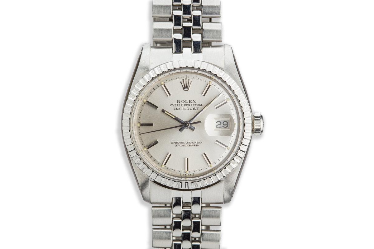 1977 Vintage Rolex DateJust 1603 Silver Dial photo, #0