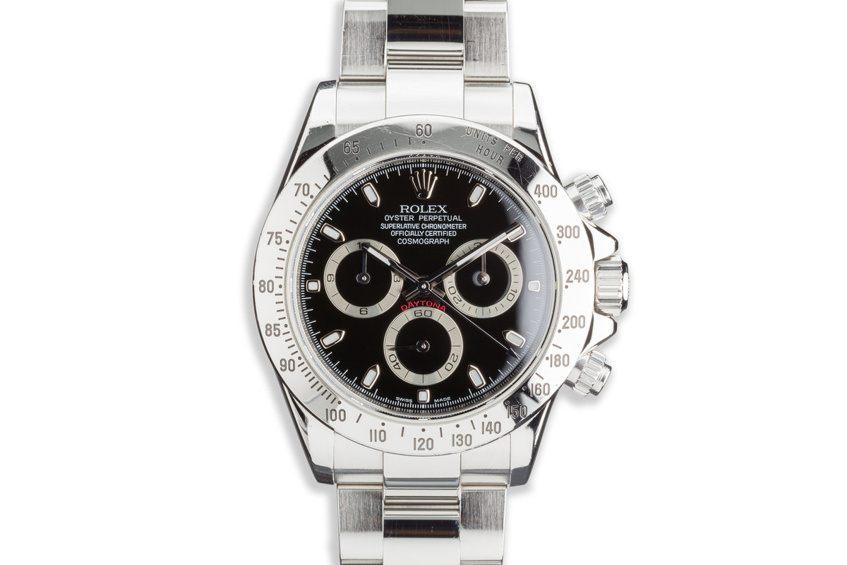 2006 Rolex Daytona 116520 Black Dial photo, #0
