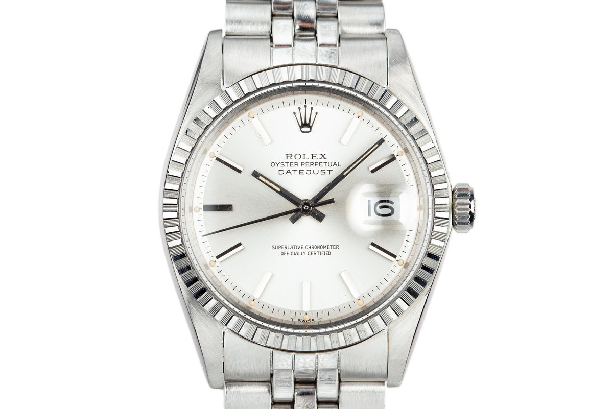 1972 Rolex DateJust 1603 Silver Dial photo, #0