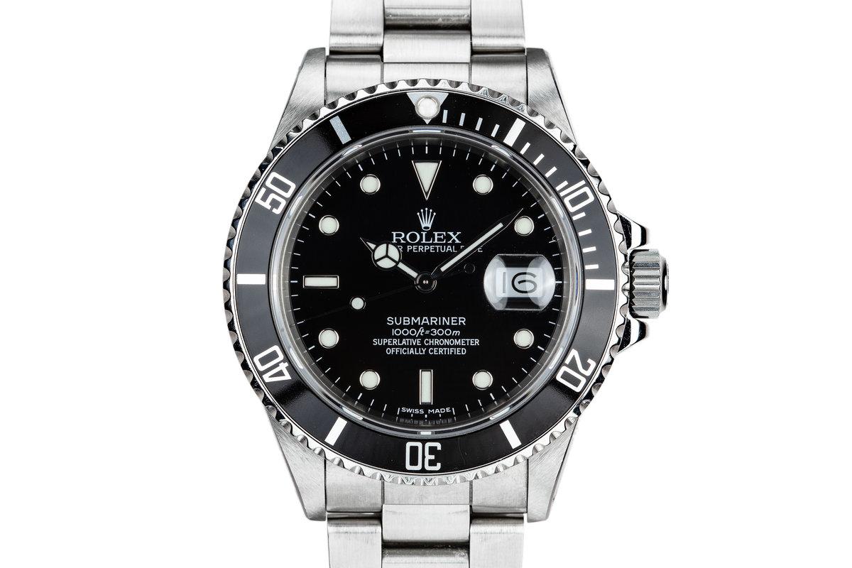 1988 Rolex Submariner 168000 photo, #0