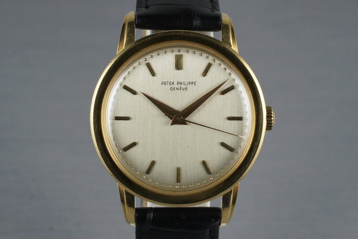 1959 18K YG Patek Philippe 2481 with Papers photo, #0
