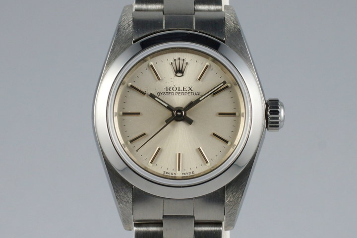 2000 Rolex Ladies Oyster Perpetual 76080 photo