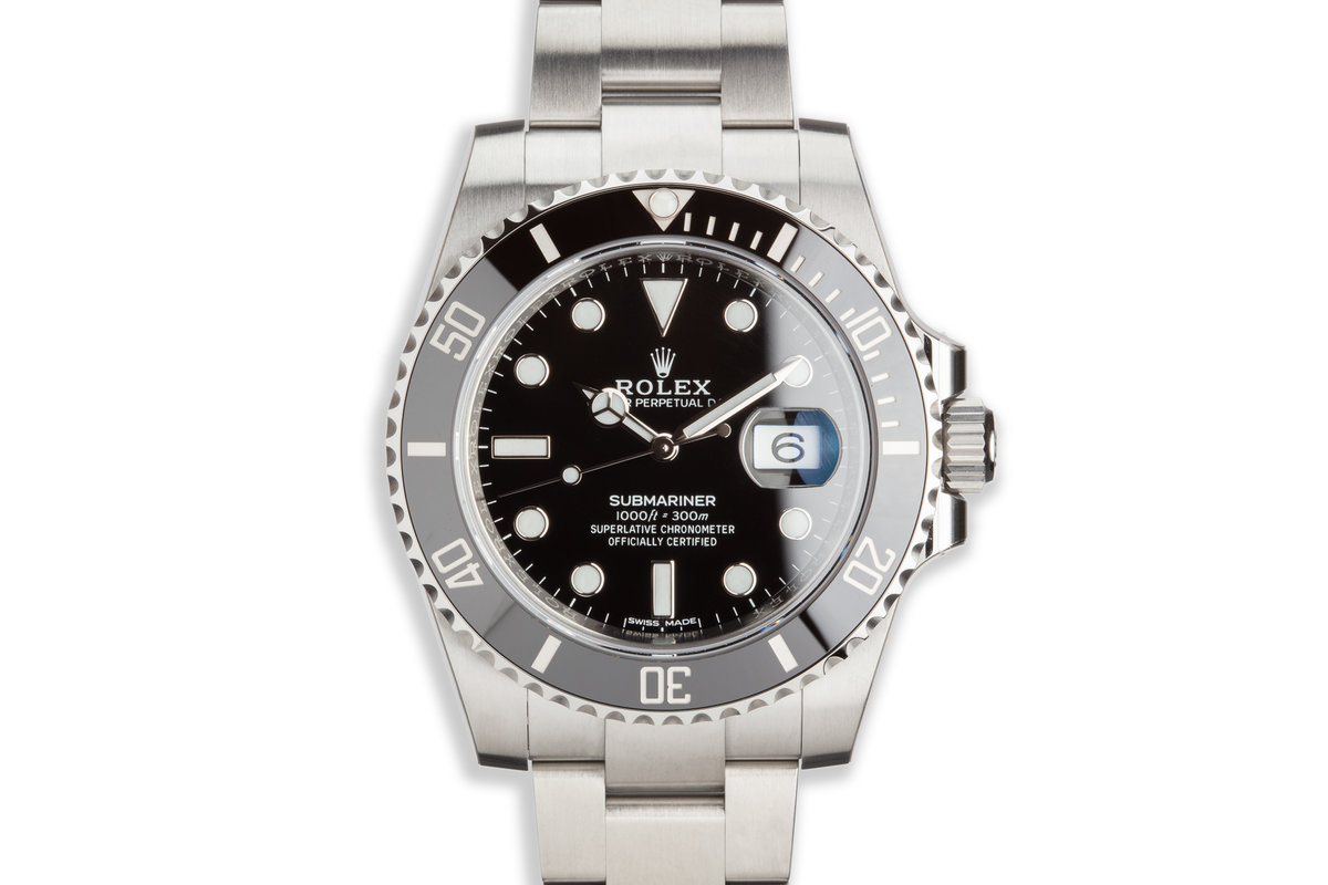 2019 Rolex Submariner 116610LN Full Set with Full Stickers photo, #0