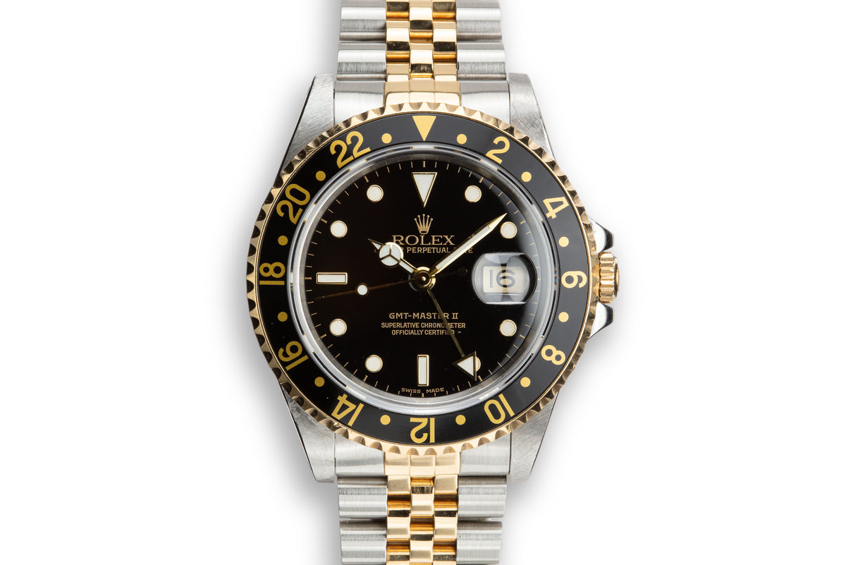 1993 Rolex Two-Tone GMT-Master II 16713 photo, #0