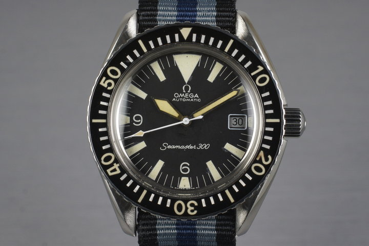 1967 Omega Seamaster 300 166.024 'Big Triangle' photo