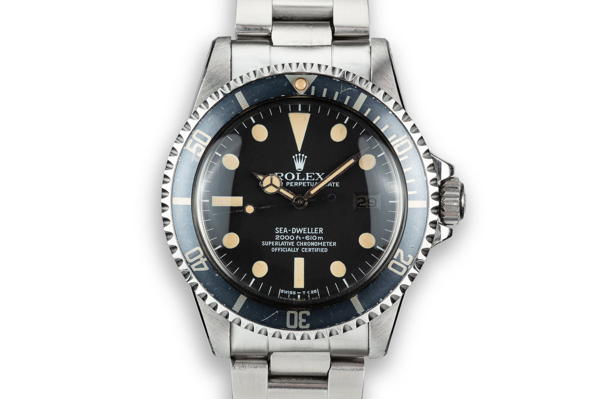 1978 Rolex Sea-Dweller 1665 with Mark 1 Great White Dial photo, #0