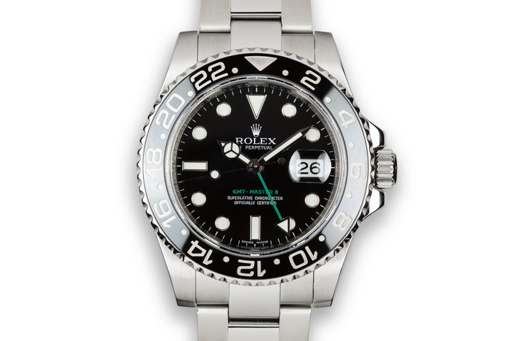 Rolex Ceramic GMT-Master II 116710LN With Box photo