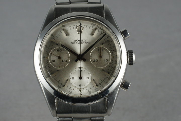 1965 Rolex Pre-Daytona 6238 with Silver Dial photo