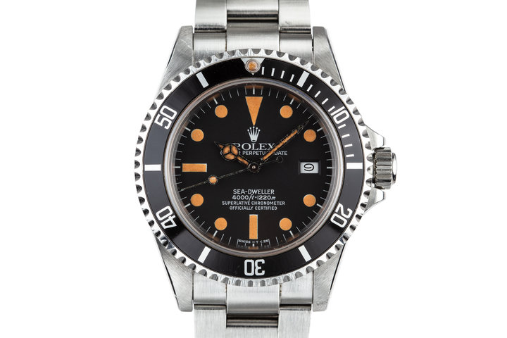 1982 Rolex Sea-Dweller 16660 MK I Dial with Box and Papers photo