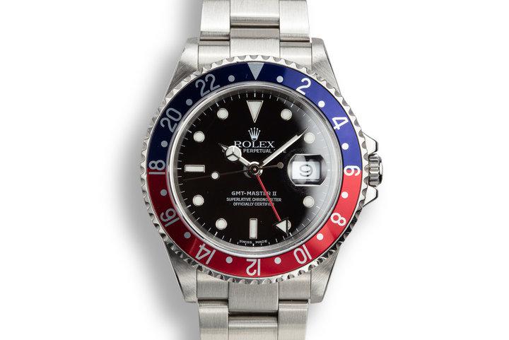 "2000 Rolex GMT-Master II 16710 ""Pepsi"" photo"