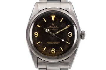 1967 Rolex Explorer 1016 with Tropical Gilt Dial photo