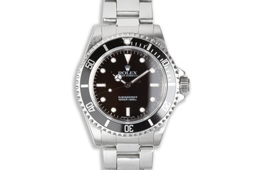 1997 Rolex Submariner 14060 with Box and Booklets photo