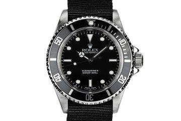 2000 Rolex Submariner 14060 photo