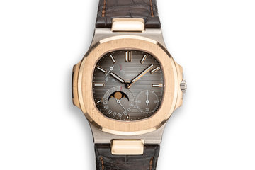 2016 Two-Tone WG/RG Patek Philippe Nautilus 5712 GR-001 with Box and Papers photo