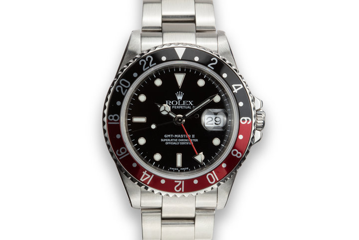 "2002 Rolex GMT-Master II16710 ""Coke"" photo"