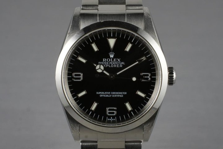 1999 Rolex Explorer 14270 photo