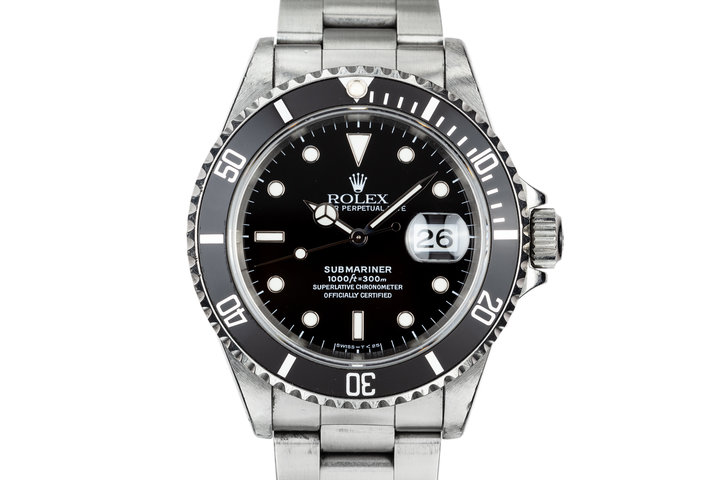 1995 Rolex Submariner 16610 with Tritium Dial photo