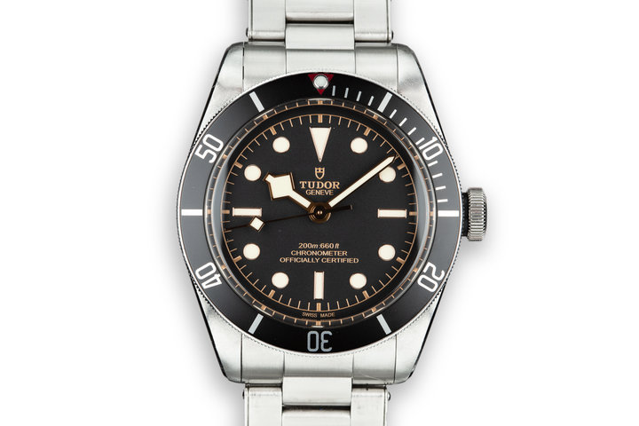 2016 Tudor Heritage Black Bay 79230N with Box and Papers photo