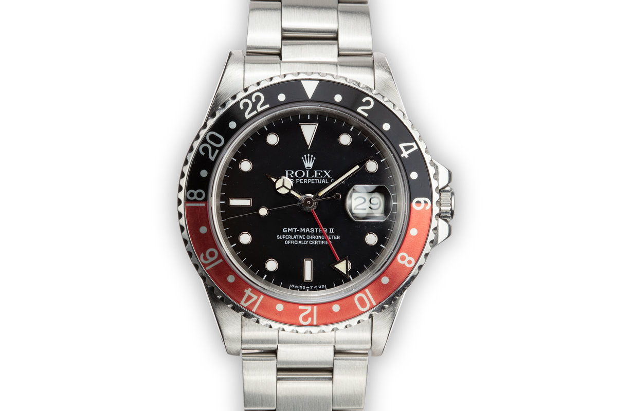 """1987 Rolex GMT-Master II 16760 """"Fat Lady"""" with Box and Papers photo, #0"""