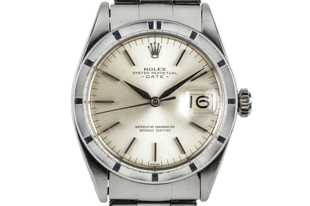 1963 Rolex Date 1500 with Service Papers photo, #0