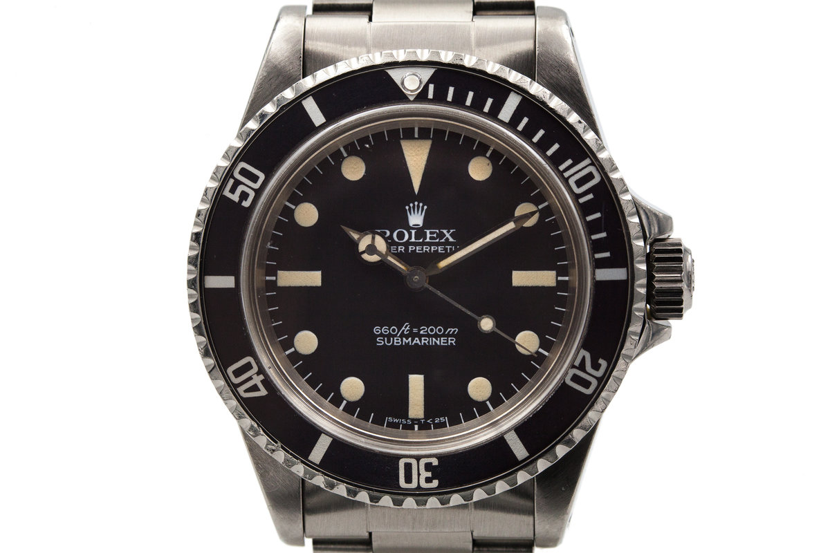 """1977 Rolex Submariner 5513 with """"Pre-Comex"""" Dial photo, #0"""