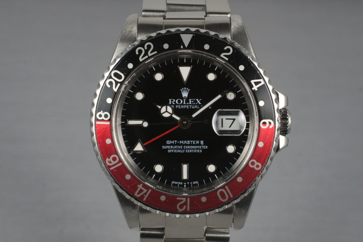 1989 Rolex 16710 GMT II with Box and Papers photo