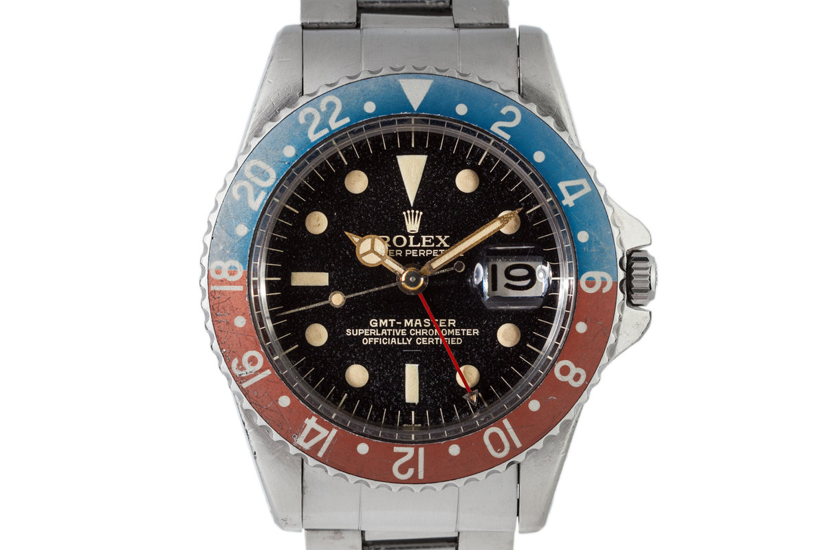 1963 Rolex GMT 1675 Gilt Underline Dial photo, #0
