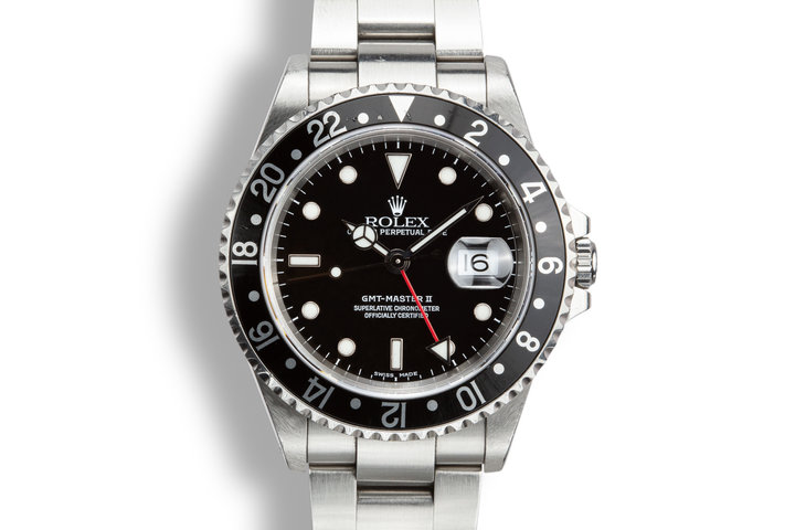 2000 Rolex GMT-Master II 16710 photo