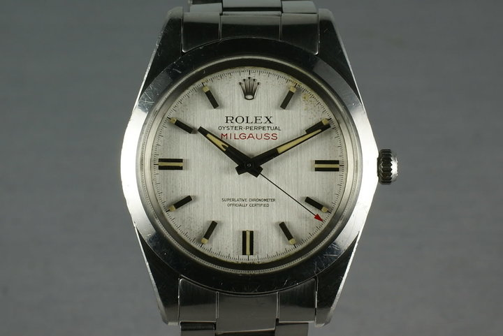 Rolex Milgauss 1019 Unpolished case photo