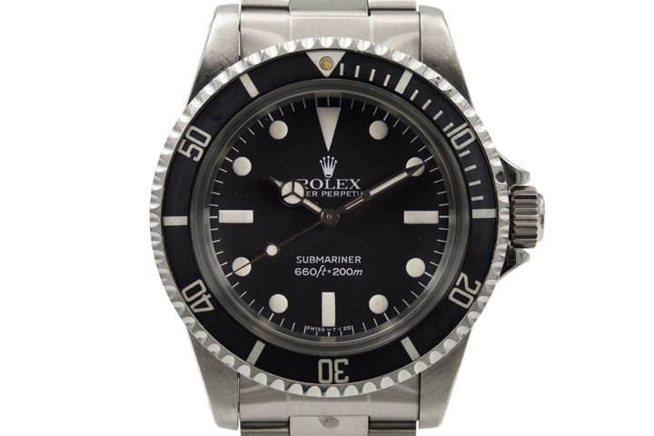 1982 Rolex Submariner 5513 Mark IV Maxi Dial  photo