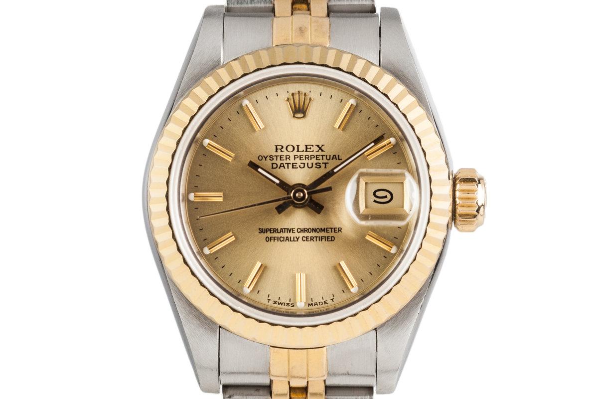 1988 Rolex Ladies Two Tone Datejust 69173 photo, #0