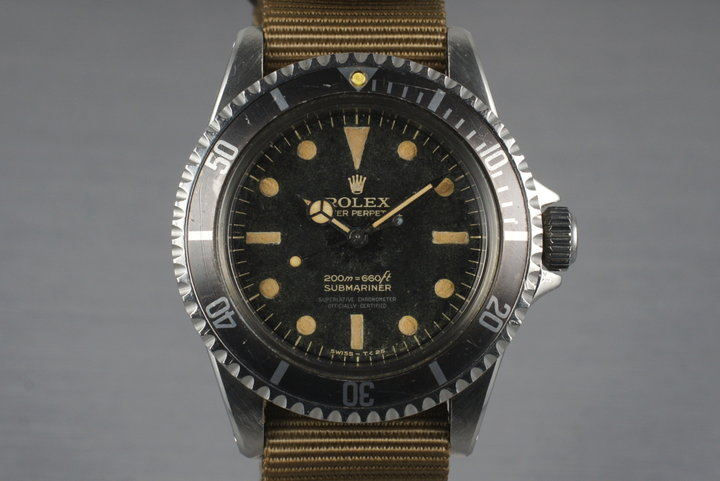 1963 Rolex Submariner 5512 PCG Gilt photo