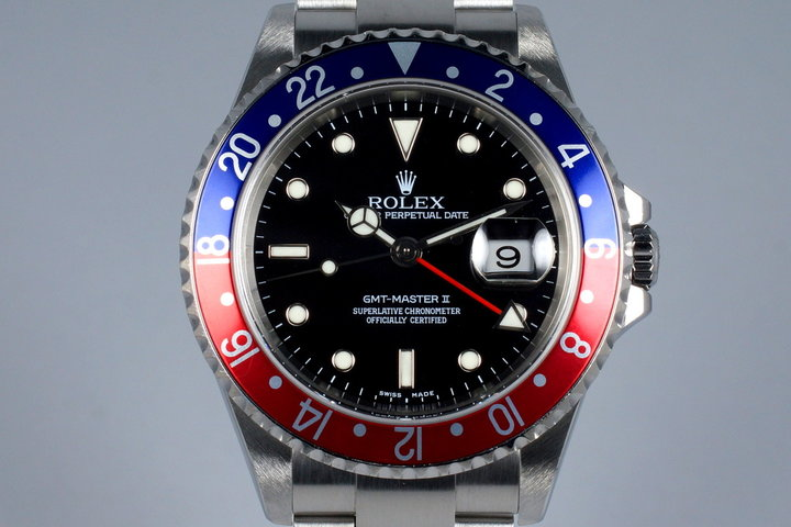 2004 Rolex GMT II 16710 photo