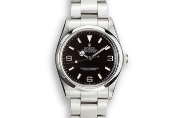 2006 Rolex Explorer 114270 with Box and Papers photo