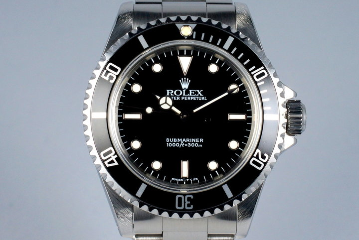 1995 Rolex Submariner 14060 with Box and Papers photo
