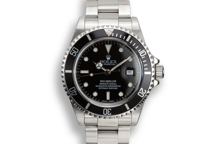 2002 Rolex Sea-Dweller 16610 photo