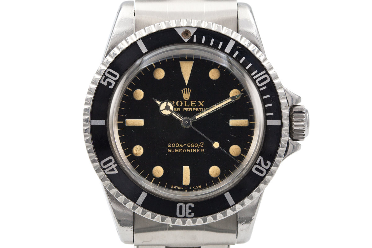 1965 Rolex Submariner 5513 Glossy Gilt Dial photo, #0