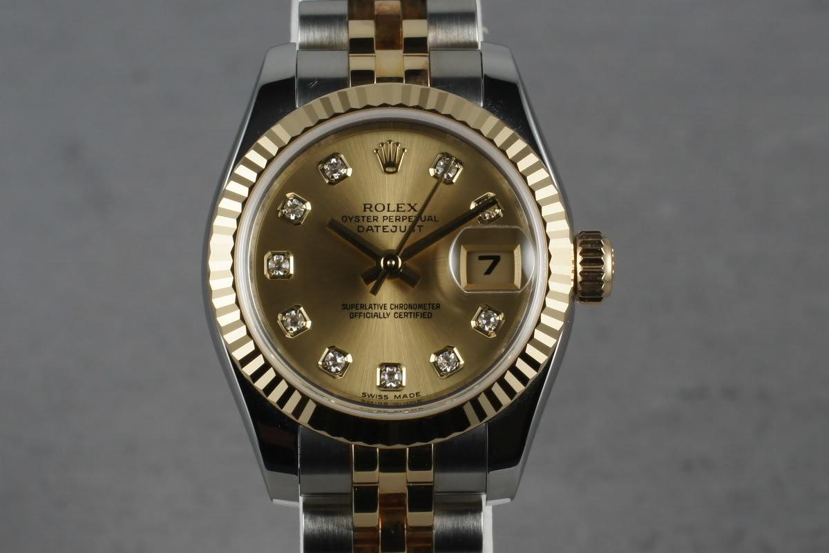 2008 Rolex Ladies Tone Datejust  179173 photo, #0