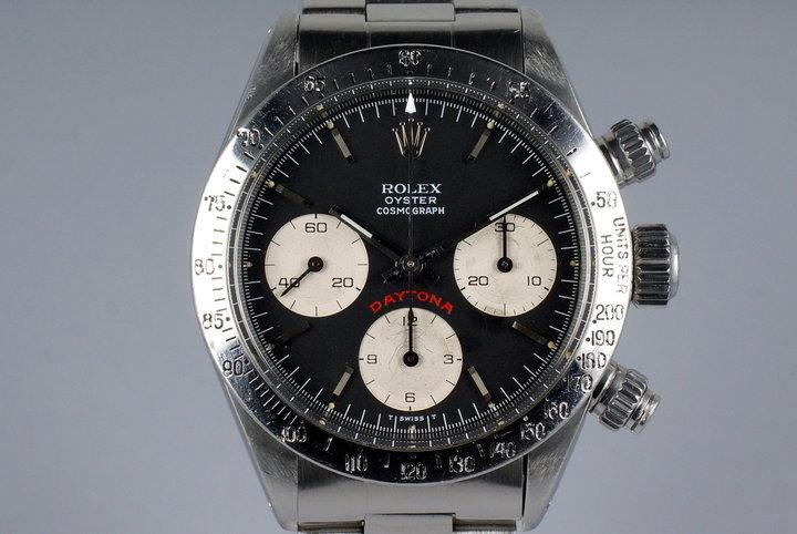 1978 Rolex Daytona 6265 Black Big Red Daytona Dial photo