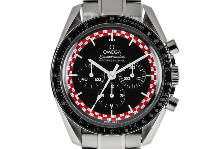 "2016 Omega Speedmaster Racing 311.30.42.30.01.004 ""Tin Tin"" Dial photo"
