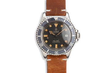 1973 Tudor Snowflake Submariner 9411/0 Black Dial photo