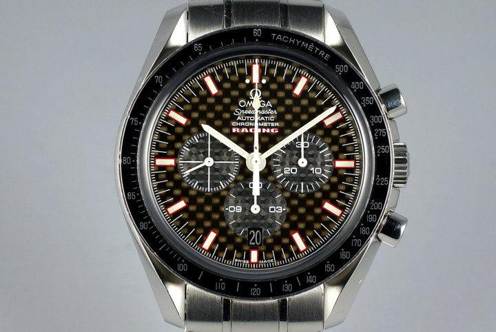 2007 Omega Speedmaster 3552.59 Racing Dial photo