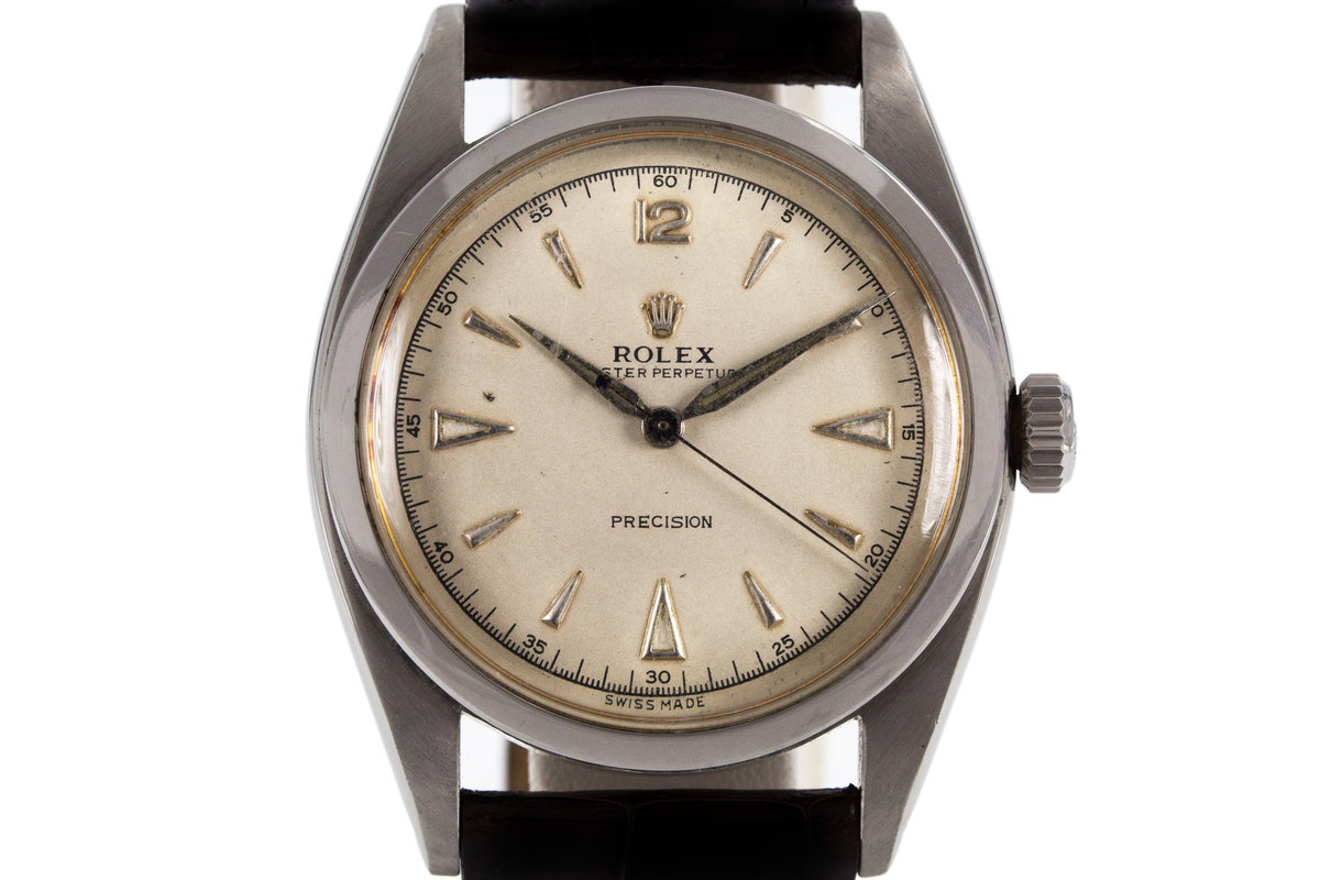 1954 Rolex 6298 with Silver Dial photo, #0